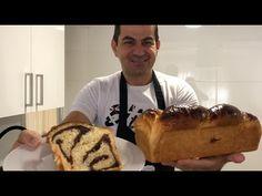Reteta de COZONAC cu NUCA SI CACAO - fara framantare - YouTube Pan Dulce, Dessert Recipes, Desserts, Biscotti, Tiramisu, Cooking Recipes, Sweets, Breakfast, Ethnic Recipes