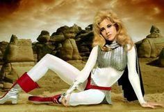 Jane Fonda as Barbarella - unforgettable