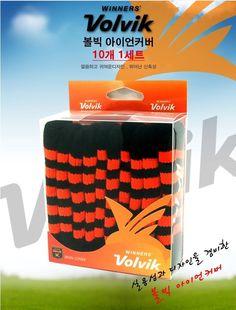 Volvic Iron Cover Microfiber 10PCS (1Set) #VolvikKorea