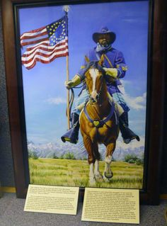 The Missouri Guard displayed the artwork of retired Missouri Guardsman Essex Garner  at the Ike Skelton Training Site in Jefferson City in honor of Black History Month.