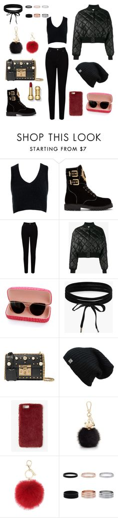 """Untitled #490"" by itsafagh ❤ liked on Polyvore featuring Sans Souci, Balmain, EAST, STELLA McCARTNEY, Boohoo, Gucci, Missguided, Furla and L.K.Bennett"