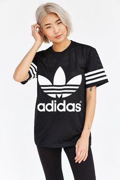 Adidas mesh unisex tee, so you can workout in style!