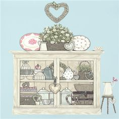Vintage Cupboard Limited Edition Print
