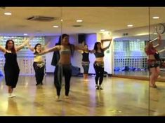 Full 60 minute belly dance fusion hip hop lesson- did 20 minutes of it. Fantastic workout! I wish I knew the technical aspects of belly dancing, though.