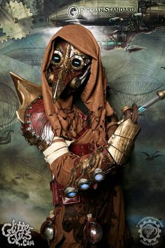 Dr. Cipherous - Arcane steampunk plague doctor by TwoHornsUnited