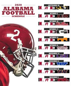 Crimson Tide Football, Alabama Crimson Tide, Alabama Football Schedule, Ohio State Football, College Football, Oklahoma Sooners, Nfl Football, American Football