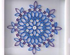 Mandala Azul, Quadro decorativo