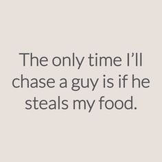 "M.O.T.D Cosmetics | ""The only time I'll chase a guy is if he steals my food"" 