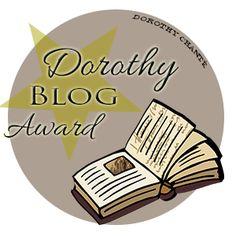 Kamilla Harmónia: Dorothy Blog Award díjat kaptam Awards, Blog, Blogging