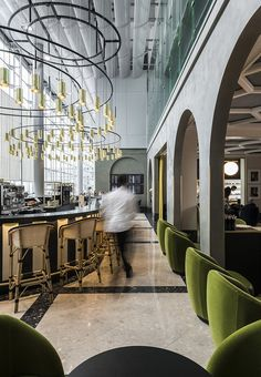 Le restaurant I Love Paris par India Mahdavi. Visit City Lighting Products! https://www.linkedin.com/company/city-lighting-products