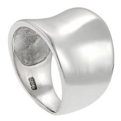 @Overstock - Tapered concave ringSterling silver jewelryClick here for ring sizing guidehttp://www.overstock.com/Jewelry-Watches/Tressa-Sterling-Silver-Tapered-Ring/629543/product.html?CID=214117 $26.99