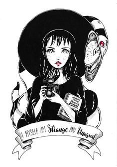One of my inktobers 2016 collection Limited Edition Art Prints -Archival inks printed on Fine Art Matte Paper -Hand signed and numbered by artist -Small & Medium print sizes are available Original Painting -Measures -Ink and copic makers on Canson paper Beetlejuice Tattoo, Lydia Beetlejuice, Tim Burton Style, Tim Burton Art, Coraline, Imagenes Dark, Arte Zombie, Arte Obscura, Goth Art