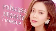 프린세스 멀메이드 메이크업 Princess Mermaid Make-up (with Subs) | Heizle