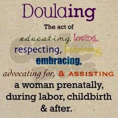 Doulas are AWESOME <3