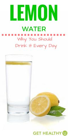 Lemons flush out toxins, assist in weight loss, and are a digestive booster. You need to drink more Lemon Water, and here's why!
