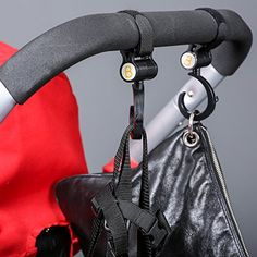 It is designed to connect to the push bar and beam in stroller, trolley, pram and so on for hanging things. Baby stroller hooks perfect for hanging diaper bags, grocery bags, mommy bags and much more. Baby Stroller Accessories, Bag Accessories, Double Strollers, Baby Strollers, Best Baby Prams, Bag Hanger, Pram Stroller, Baby Diaper Bags, Baby Carriage
