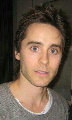 Jared leto...bright eyed and bushy tailed