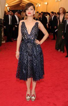 Marion Cotillard in Dior Haute Couture (Met Gala 2014)