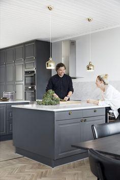 Les coups de coeur déco de @decocrush   www.decocrush.fr #decocrush #crush   La cuisine d'un cuisinier suédois :)