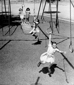 One of my favorite playground toys that I wouldn't resist swinging from right now.