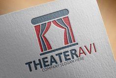Theater Logo by josuf on Creative Market