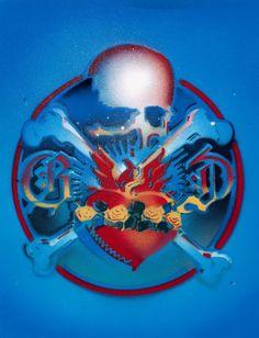 RICK GRIFFIN - art for Grateful Dead 15th Anniversary Album -1981