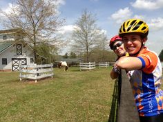 BRAG Spring Tune-Up. Riders taking a break to enjoy the view. Stay at the Brady Inn during BRAG! www.bradyinn.com
