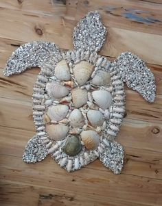 Hey, I found this really awesome Etsy listing at https://www.etsy.com/listing/190960006/gorgeous-3-foot-shell-encrusted-sea
