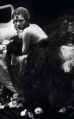 kate moss by mert and marcus for vogue paris september 2012
