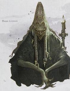 curse of strahd -- baba lysaga