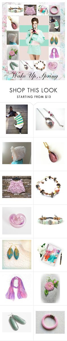 """Wake Up, Spring: Handmade Spring Gift Ideas"" by paulinemcewen on Polyvore"