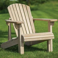 Erstaunlich Adirondack Chair Templates And Plan