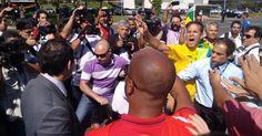 osCurve Brasil : Manifestantes pró e contra Lula entram em choque e...