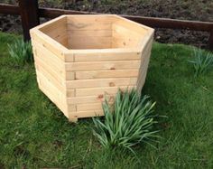 50cm Square Planter by PrettyPlanter on Etsy
