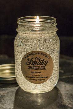 Ole Smoky Gel Candle - Gel candle in mason jar