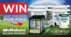 Paint your House for Free - http://www.competitions.ie/competition/paint-house-free/