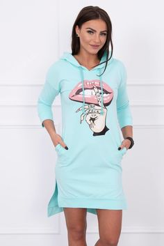 Hooded Dress, Long A, Smart Casual, Sleeves, Cotton, How To Wear, Sport, Dresses, Style