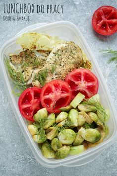 lunchbox do pracy Pasta Dishes, Meal Prep, Lunch Box, Health Fitness, Food And Drink, Tasty, Healthy Recipes, Meals, Vegetables