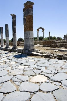 Ruins of Minturno, Via Appia, Rome, Italy
