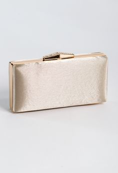 Shimmer box bag feat