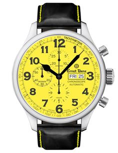 Buy used authentic Ernst Benz Chronoscope watch in Stainless Steel. Certified pre owned Ernst Benz watches for sale at the best price. Men's Accessories, Cool Watches, Watches For Men, Popular Watches, Casual Watches, Cartier, Benz, Swiss Army Watches, Expensive Watches