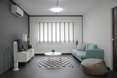 Minimalistisch modern en klassiek chique woonkamer furniture