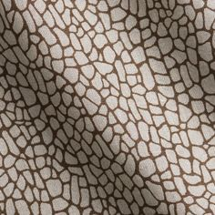 Coral in Branch | Laura Lienhard Textiles #fabric #linen #brown