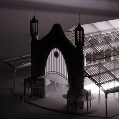 Mercado de Colón [Detalle] #Arquiayuda #architecturemodel #maquetaarquitectura #architecture #arquitectura #archilovers #lasercut #cortelaser #maquetasvalencia #architecturestudent #design #handmade #art #think #build #architecturedetail #conXdeXirivella #workhard and be #nice to #people by arquiayuda