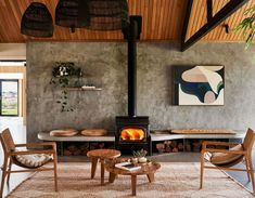 Hottest New Hotel Openings Across the Globe : Lon Retreat and Spa – Bellarine Peninsula Concrete Ceiling, Timber Ceiling, Wooden Ceilings, Concrete Floors, Countryside Hotel, Soho House, The Design Files, Polished Concrete, Wood Doors