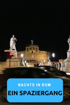 A walk through Rome - A nocturnal ramble through the Eternal City is . Roadtrip, Nightlife Travel, Night Life, Walking, Tours, City, Highlights, Rome, Rome Tips