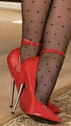 gold stiletto heels for women Sexy High Heels, Black Stiletto Heels, Beautiful High Heels, Sexy Legs And Heels, Hot Heels, High Heels Stilettos, Pantyhose Heels, Stockings Heels, Talons Sexy
