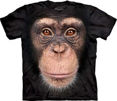 Chimp Face [1035720] - £21.49 : The Mountain T Shirts UK, Nemesis Now, Alchemy Gothic and Demonia Gift Shop, Nemesis Now, Mountain T shirts, Alchemy Gothic, Demonia footwear