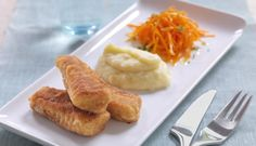 Food the old fashioned way Homemade Fish Fingers, Retro Recipes, Ethnic Recipes, Fish Sticks, Norwegian Food, Mashed Potatoes, French Toast, Dinner Recipes, Food And Drink