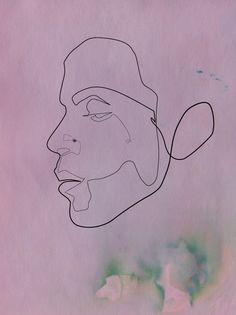 One line illustration / Christophe Louis